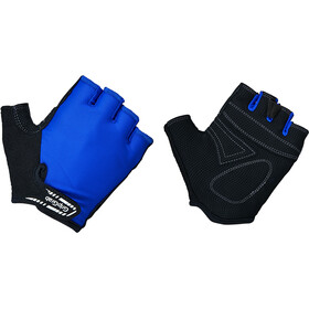 GripGrab X-Trainer Short Finger Gloves Kids Barn blue